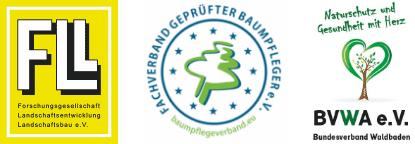 Zertifizierungen und Mitgliedschaften des Baumdienst Herkenrath