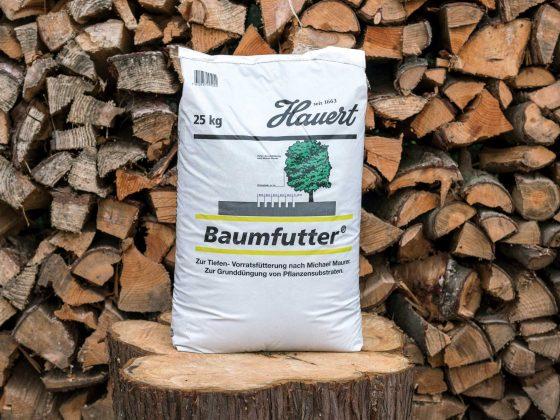 Ein Sack Hauert Baumfutter 25 Kilogramm