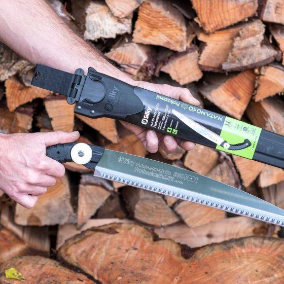 Silky Natanoko 60 Professional Handsäge 330 mm mit Scheide