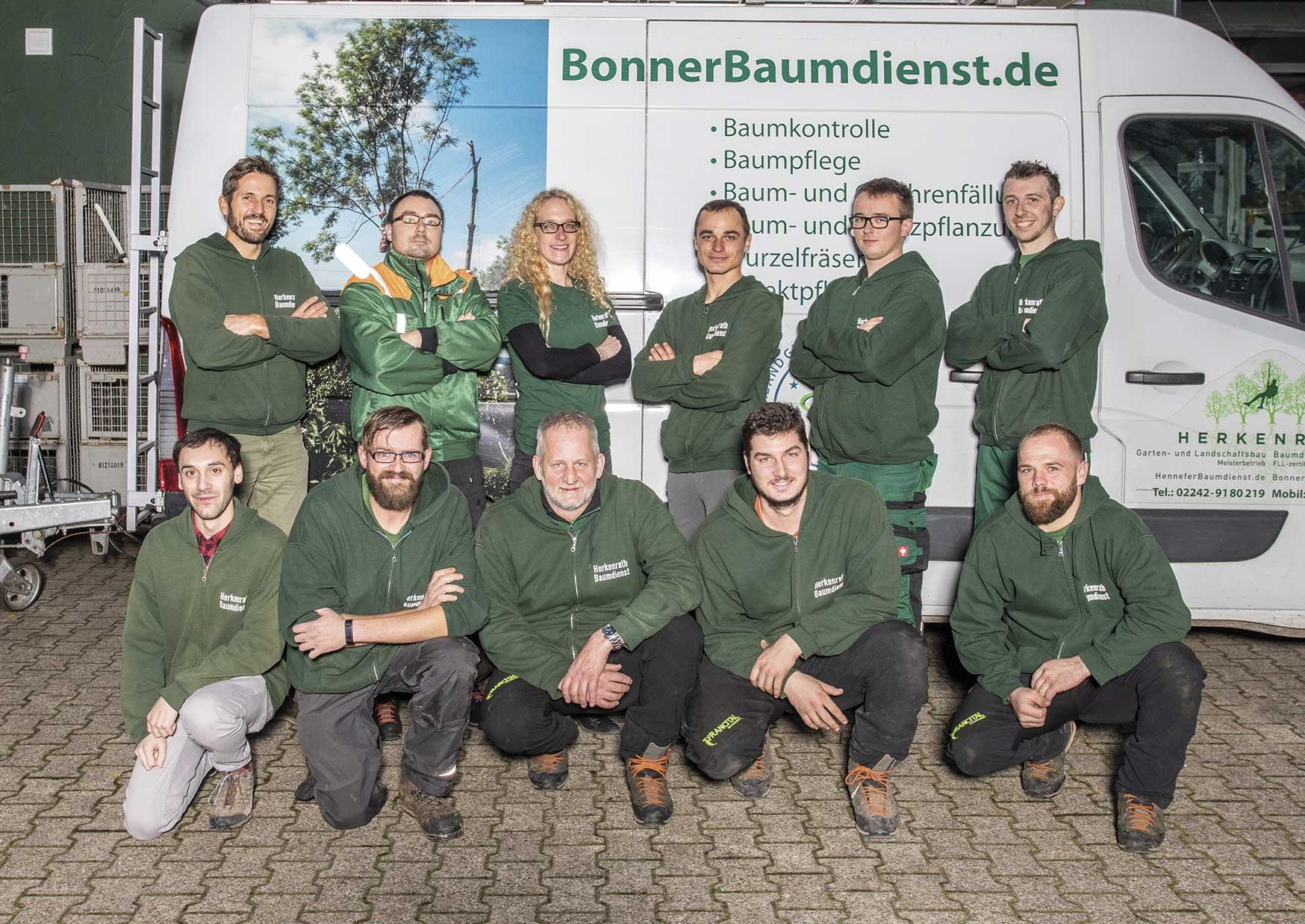 Team des Bonner Baumdienst Herkenrath